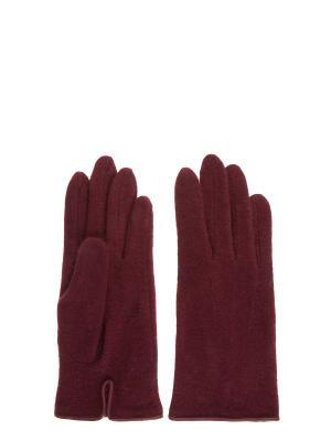 Перчатки Colin's. Цвет: бордовый