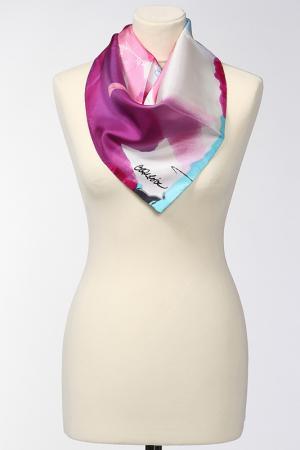 Платок Christian Lacroix. Цвет: фуксия, розовый, бирюзовый
