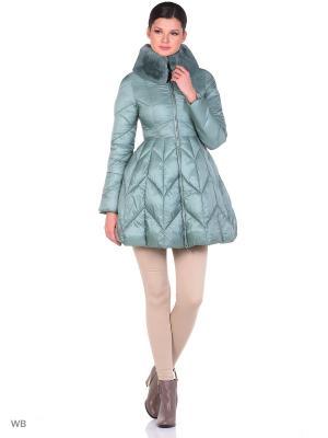 Пальто Clasna. Цвет: светло-зеленый