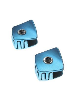 Заколка-краб (2 шт.) Happy Charms Family. Цвет: синий, черный