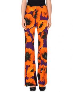 Повседневные брюки 22 MAGGIO BY MARIA GRAZIA SEVERI. Цвет: фиолетовый