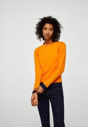 Джемпер Mango. Цвет: оранжевый
