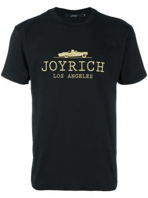 Футболка с вышивкой логотипа Joyrich. Цвет: чёрный
