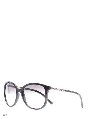 Очки солнцезащитные BURBERRY. Цвет: темно-коричневый