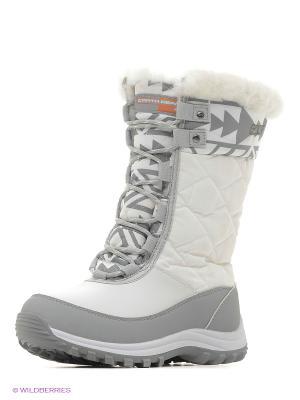 Спортивные ботинки Earth Gear. Цвет: белый