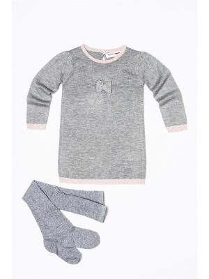 Комплект одежды MINOTI. Цвет: серый