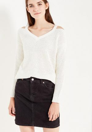 Пуловер Jennyfer. Цвет: белый