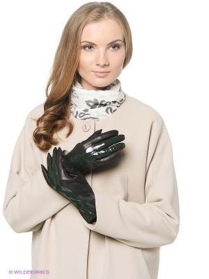 Перчатки женские Sabellino. Цвет: зеленый