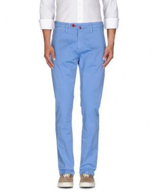 Повседневные брюки BARONIO. Цвет: лазурный