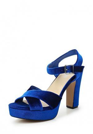 Босоножки Benini. Цвет: синий