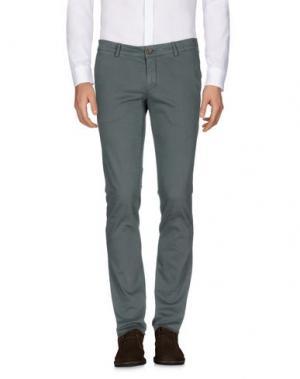 Повседневные брюки MAISON CLOCHARD. Цвет: цвет морской волны