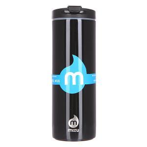 Бутылка для воды  Travel Mug 500ml Glossy Black Le Mizu. Цвет: черный