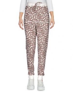 Повседневные брюки SWEET ROSEE. Цвет: белый