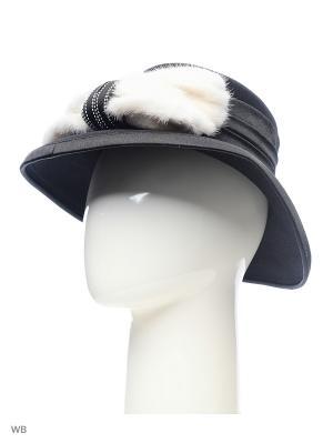 Шляпа Lak Miss. Цвет: черный, фиолетовый