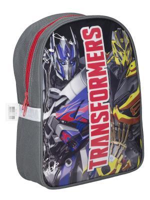 Рюкзак детский. Transformers Prime. Цвет: желтый, красный, серый