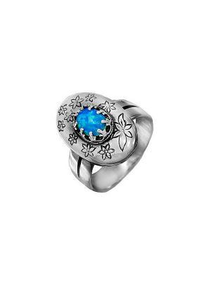 Кольцо DEN'O. Цвет: серебристый