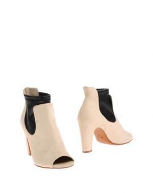 Полусапоги и высокие ботинки FIORIFRANCESI. Цвет: слоновая кость