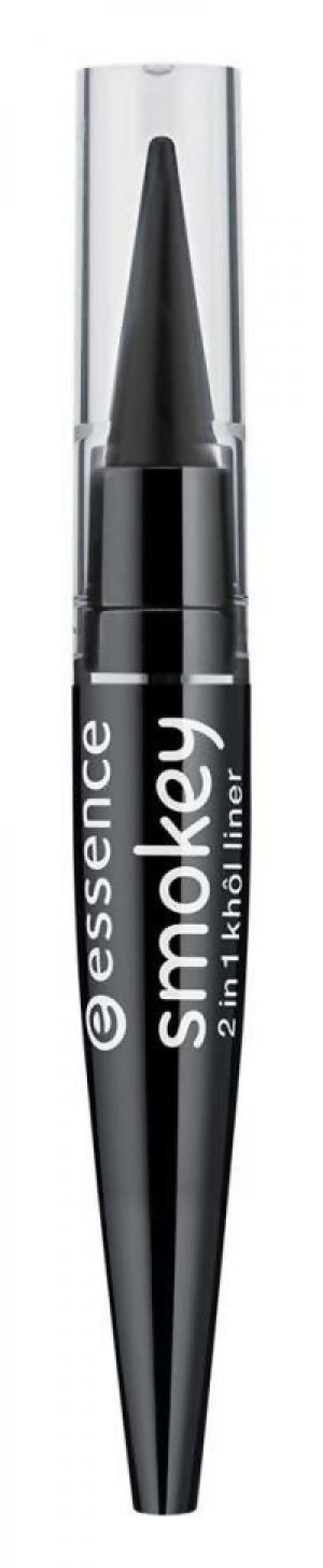 Подводка essence 01 Smokey Black. Цвет: 01 smokey black