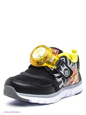 Кроссовки Kakadu. Цвет: черный, желтый