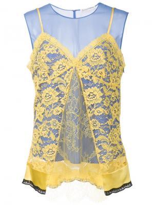 Блузка Sonora Altuzarra. Цвет: жёлтый и оранжевый