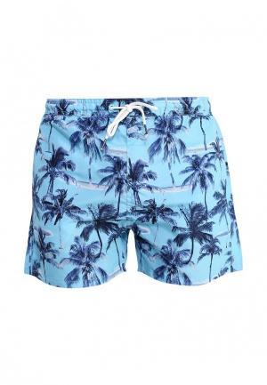 Шорты для плавания Fresh. Цвет: голубой