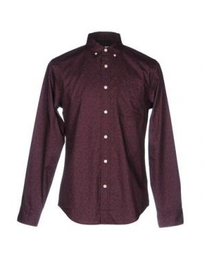 Pубашка CLUB MONACO. Цвет: баклажанный