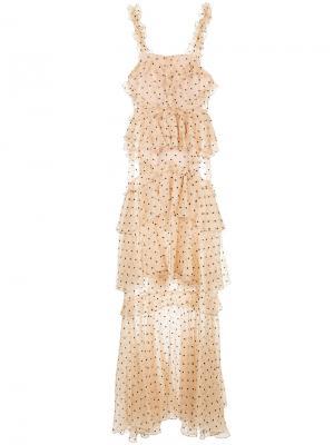 Платье Yoko Alice Mccall. Цвет: телесный