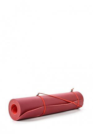 Коврик для йоги Nike. Цвет: красный
