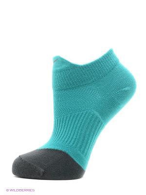 Носки, 3 пары NIKE 3PPK DRI-FIT LGHTWT HI-LO. Цвет: зеленый, серый, темно-серый, светло-серый