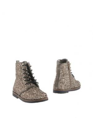 Полусапоги и высокие ботинки OCA-LOCA. Цвет: платиновый