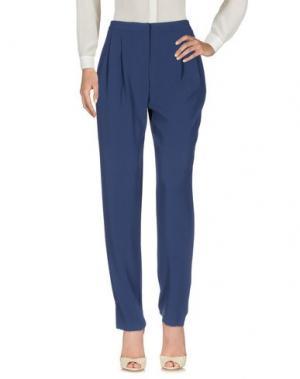 Повседневные брюки I BLUES. Цвет: темно-синий