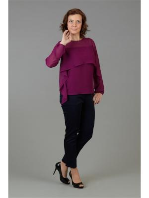 Блузка Настаси. Цвет: лиловый