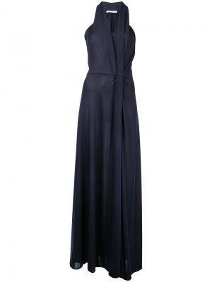 Entwined long gown Bianca Spender. Цвет: чёрный