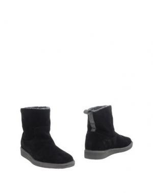 Полусапоги и высокие ботинки PÀNCHIC. Цвет: черный
