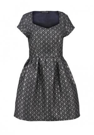Платье Catch. Цвет: серый