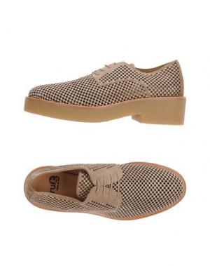 Обувь на шнурках FRU.IT. Цвет: верблюжий