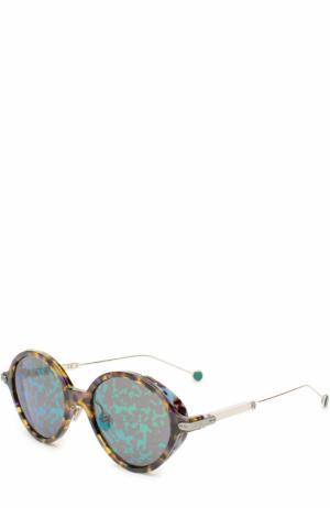 Солнцезащитные очки Dior. Цвет: разноцветный