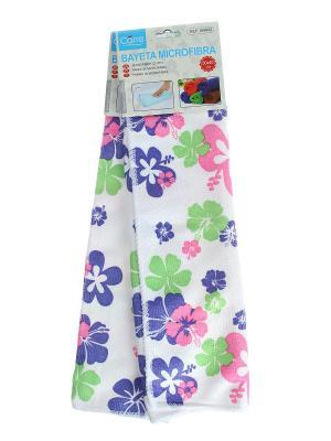 Набор (Кухонная тряпка - 2 шт.) Migura. Цвет: белый, зеленый, фиолетовый