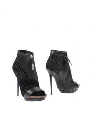 Полусапоги и высокие ботинки L.A.M.B.. Цвет: черный