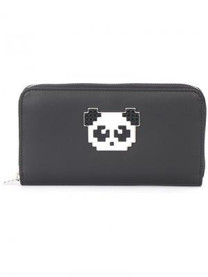Кошелек Panda Les Petits Joueurs. Цвет: чёрный