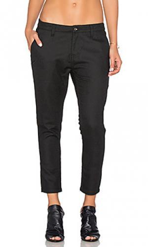 Свободные брюки laine Publish. Цвет: черный