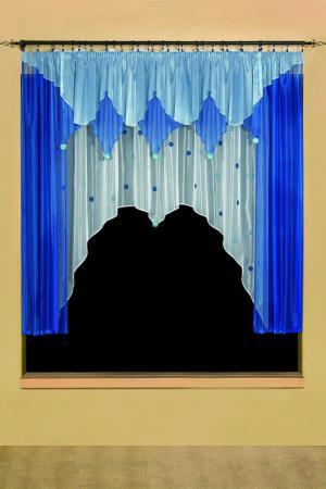 Гардина WISAN. Цвет: синий