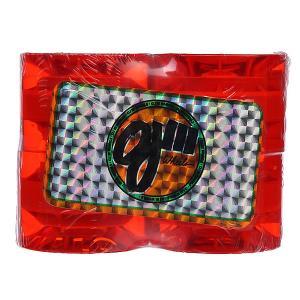 Колеса для скейтборда лонгборда  Hot Juice Mini Trans Orange 78A 55 mm Oj. Цвет: оранжевый