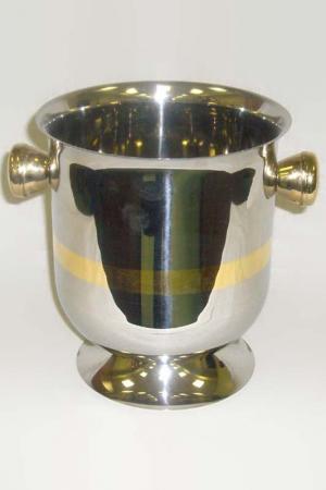 Ведерко для шампанского Эден Giorinox. Цвет: серебряный