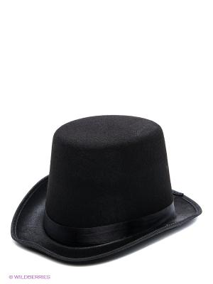 Маскарадная шляпа Magic Home. Цвет: черный