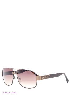 Солнцезащитные очки BLD 1416 104 Baldinini. Цвет: коричневый