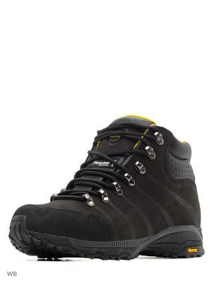 Мембранные ботинки KENIA Ascot. Цвет: черный, желтый