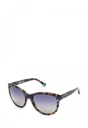 Очки солнцезащитные Emporio Armani. Цвет: разноцветный