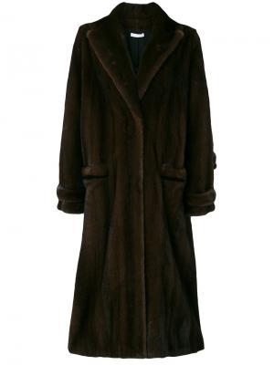 Пальто Berlin Inès & Maréchal. Цвет: коричневый