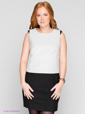 Платье SAVAGE. Цвет: серый, черный